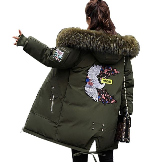 Ženska zimska jakna Alishia - 4 boje 1