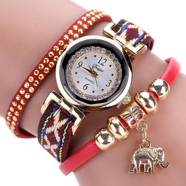 Vícevrstvé hodinky - 6 barev 1