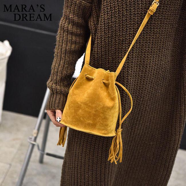 Malá taška přes rameno v podobě měšce - různé barvy 1