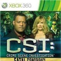 Joc (Xbox 360) CSI: Crime Scene Investigation Fatal Conspiracy