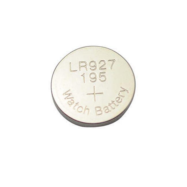 10ks Alkalická knoflíková baterie AG7/395A 1