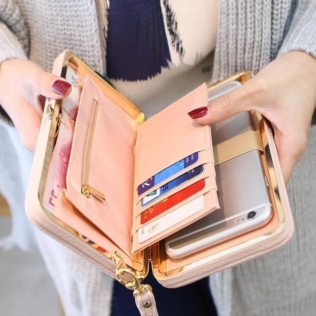 Peněženka v podobě psaníčka - 8 barev 1