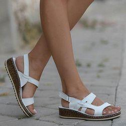 Dámské sandály Lenora Bílá-11