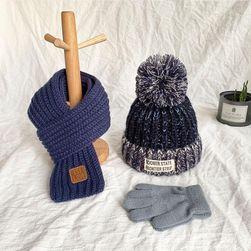 Dečija kapa sa maramom i rukavicama Mimi