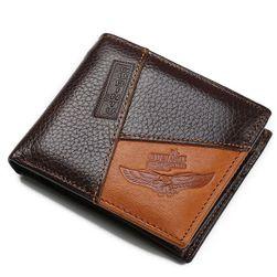 Męski portfel - brązowy