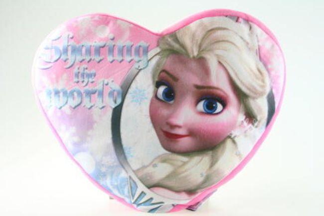 Pernă cu două fețe în formă de inimă - Frozen 1