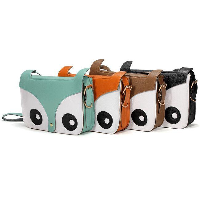 Retro taška v designu sovy Zanzea® - 4 barvy 1