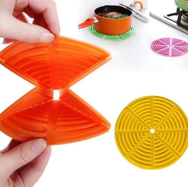 Dispozitiv din silicon pentru vase fierbinți 1