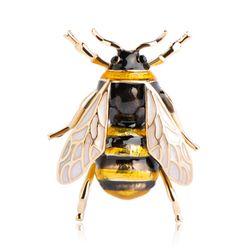 Brošňa v podobe včeličky