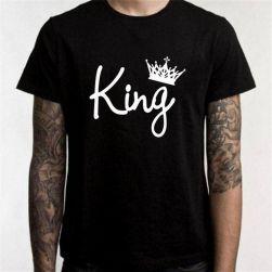 Tricou stilat King/Queen
