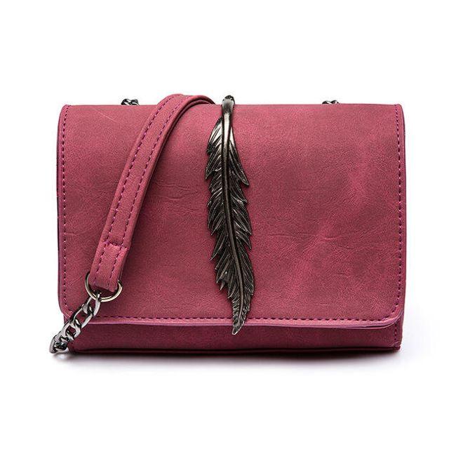 Női mini táska- toll  - 5 színben