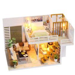 Elegancki domek dla lalek