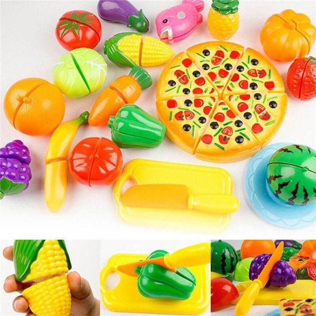 A gyerekek szeletelő  gyümölcs és zöldségre 1