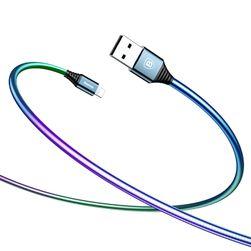 Szivárványos USB töltőkábel - 3 szín