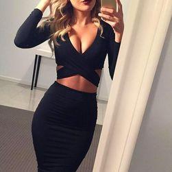 Sexy haljina sa izrezom - 5 boja