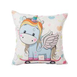 Față de pernă cu unicorn - 16 variante