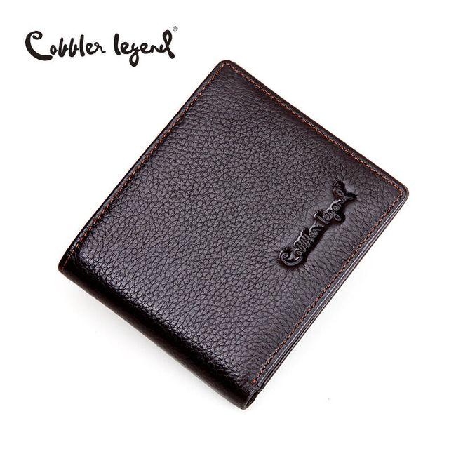 Pánská peněženka z umělé kůže - dvě barvy 1