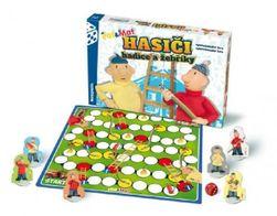 Hasiči hadice a žebříky Pat a Mat společenská hra v krabici 34x23x4cm RM_26012045