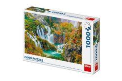 Puzzle Lacurile Plitvice Croația, 66x47cm 1000 piese în cutie 32x23x7,5cm RM_21532571