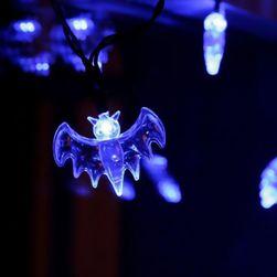 LED řetěz s netopýry