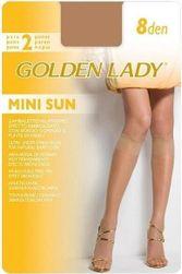 Podkolenky Mini Sun 8 den 2P - Golden Lady PR_P21622
