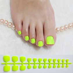 Sztuczne naklejane paznokcie B09902