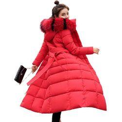 Hosszú steppelt kabát