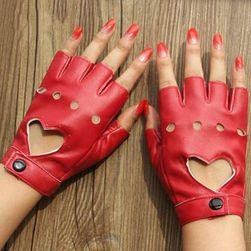 Женские перчатки из кожзама TF1289
