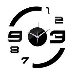 Nástěnné nalepovací hodiny B010417