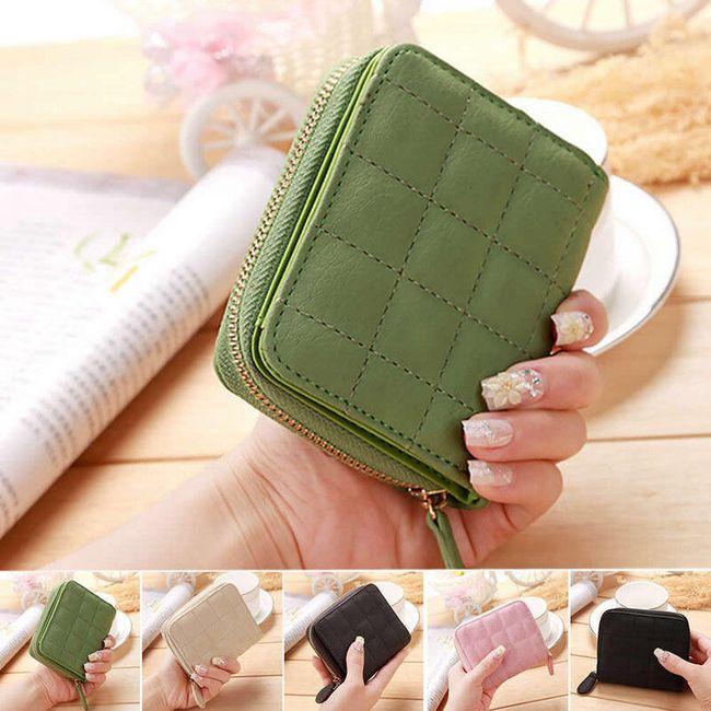 Női pénztárca kicsi - 6 szín