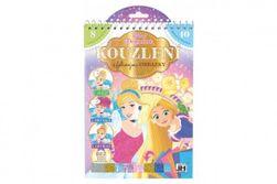 """Čarovanie s fóliovými obrázkami Princezné Disney 17,5x26cm """" RM_91011833"""