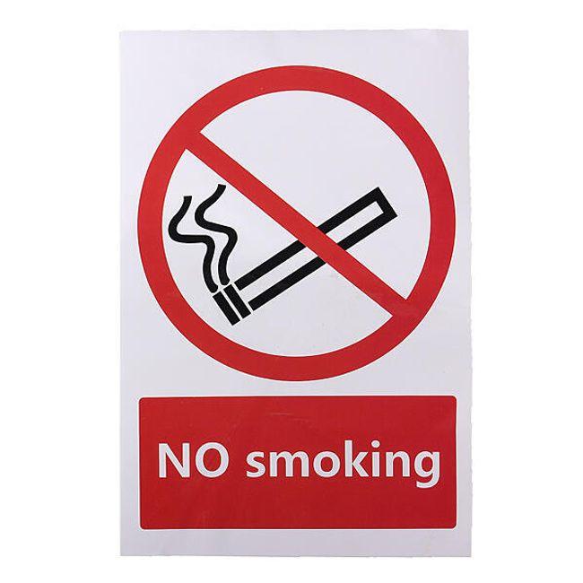 Matrica  NO smoking 1