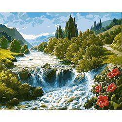 Рисуване според цифри - Дива река