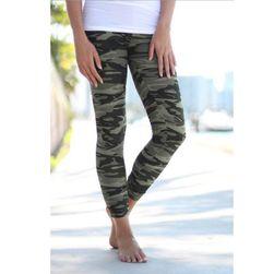 Damskie legginsy z wzorem kamo