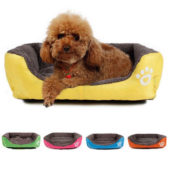 Удобный лежак для небольшой собаки или кошки 1