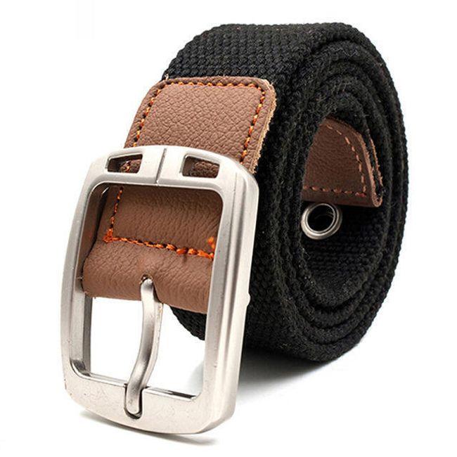 Unisex pásek - tmavé barvy 1