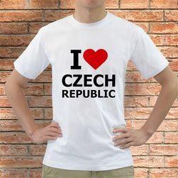 Majica I Love Czech Republic