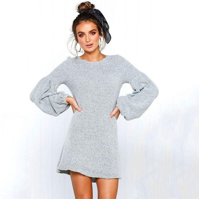 Dámské pletené šaty Leonela 1