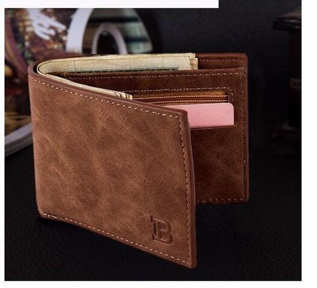 Muški novčanik od veštačke kože - 2 boje 1
