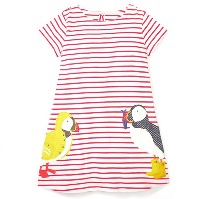Gyerek nyári ruha vidám motívummal - 19 változat