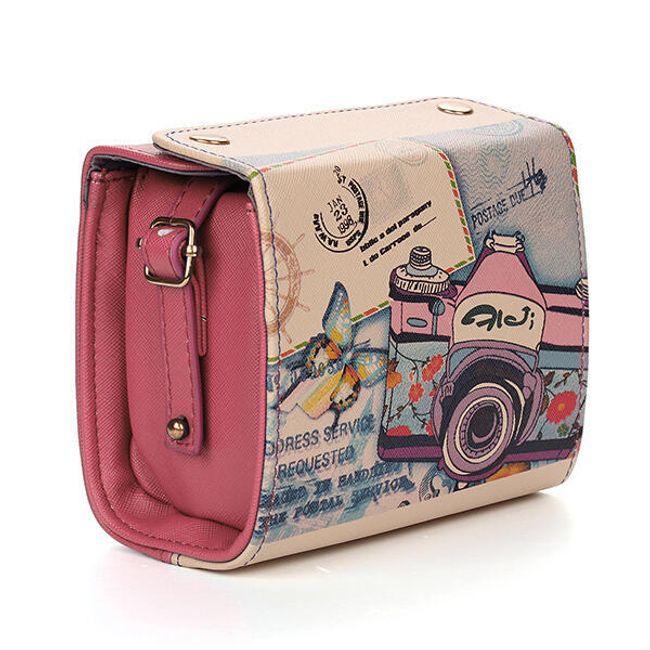 Женская сумочка в ретро дизайне 1