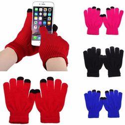 Zimowe rękawiczki do ekranów dotykowych