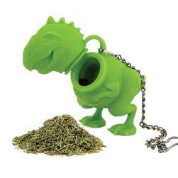 Ситечко для заварки чая, две расцветки- Динозавр