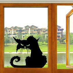Ljuta mačka - Nalepnica na prozor