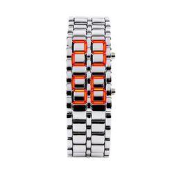 Светодиодные цифровые наручные часы - 3 варианта