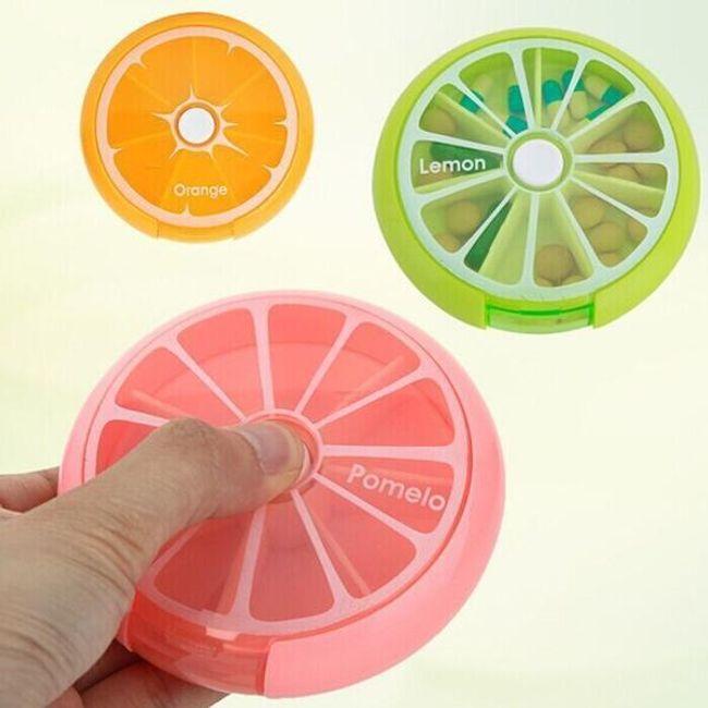 Cutie pentru medicamente în design fructe 1