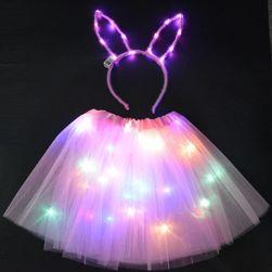 LED sukně s čelenkou Gllory