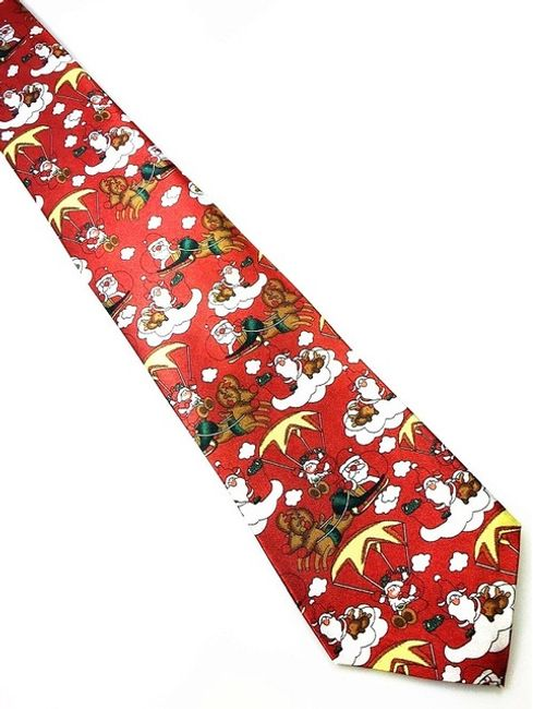 Коледна вратовръзка за мъже - 16 варианти 1