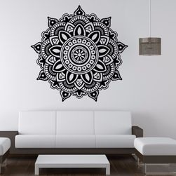 Samolepka na zeď s motivem mandaly