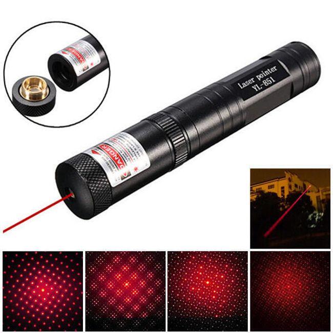 Rdeči laserski kazalec iz aluminija 1